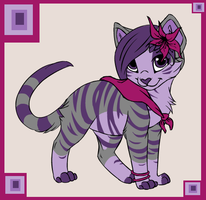 Lady Midnight the Witch Cat by SassyDragon18