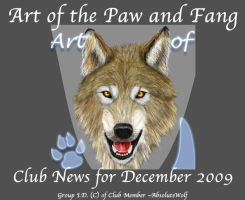 AOTPAF Group News for Dec 2009 by Colliwolf