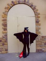 Toothless Cosplay - Arch by RainbowBile