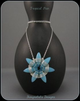 Tropical Star Necklace by ringnebula