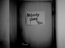 nobody loves you. by AngstWirdFleisch