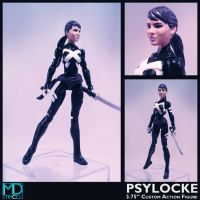 Psylocke Marvel Now by mikestimson2003