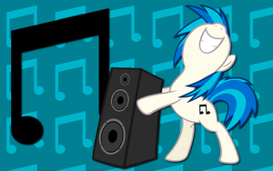 Vinyl Scratch WP by AliceHumanSacrifice0