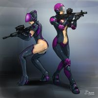 2 Soldiers by Baranha