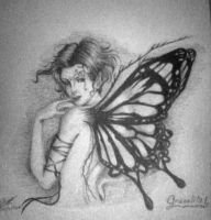 another butterfly by KingxXxNothing