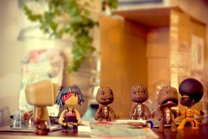Welcome Sackboys 5 by floriske