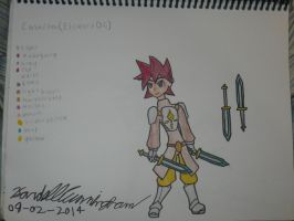 Elsword OC - Calacoa (Revamp) by Dell-AD-productions
