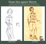 019-2015// Meme  Before And After by Art-chan
