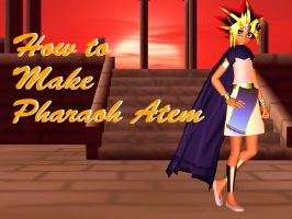 MMD Pharaoh Atem (Video Tutorial link ) by FoxDia23