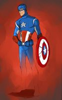 Captain America by chi-u