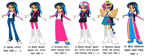 Me in different clothes of Return of the Dazzlings by Magic-Kristina-KW