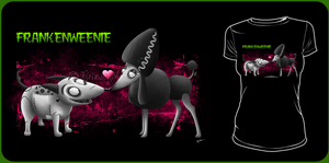 Frankenweenie Shirt Design by Crimson-Mane