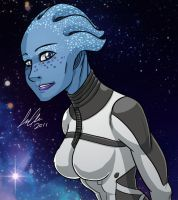 Mass Effect - Liara T'Soni by SupaCrikeyDave