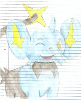 Ray The Shinx-color by Pie-was-here