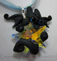 New catch a star night fury pendant by carmendee