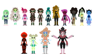 Smol Fangem Collection by sarcasticHoarder