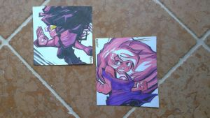 Sketch Cards- Synchronize by BatArchaic