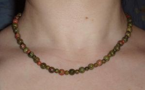 Unakite Beads by Lost-in-the-day