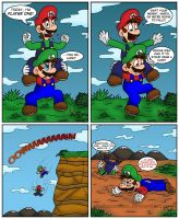 When Luigi is Mario by Gabasonian