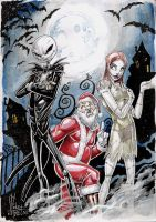 nightmare before christmas 02 by Vinz-el-Tabanas