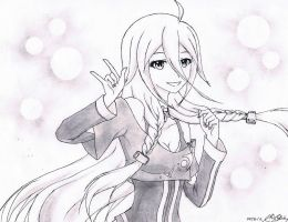 Vocaloid Fan Art: IA v3 by GAT-XX03