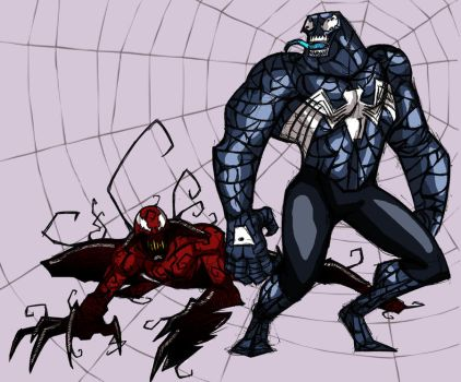 Venom and Carnage by DannyIndeed