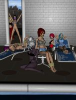 B-day Pool Party 1 by Liokaiser