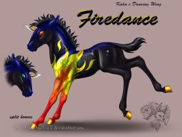 Kahn x DancingWing - Firedance by FlareAndIcicle