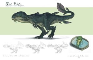 Sea Rex-orthos by priapos78