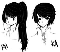 Black Hair by Hourglass34