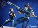 Jill Valentine by IamSteveBurnside95