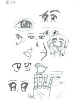 Mix Of Drawings by xxleeshyxx