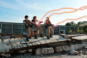 Ghostbusters on a sunny day by kathy1602