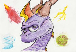 Spyro DotD - Elements by IcelectricSpyro