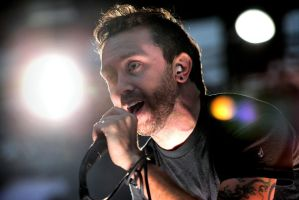 Rise Against: Tim McIlrath by basseca