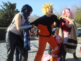 Team Seven- Fight for Naruto by WillowTreeWitch