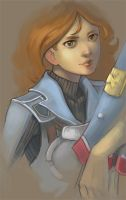 Valkyria Chronicles - Audrey by marrten