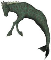 Hippocampus - Emerald by markopolio-stock