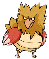 Spearow WWS by the19thGinny