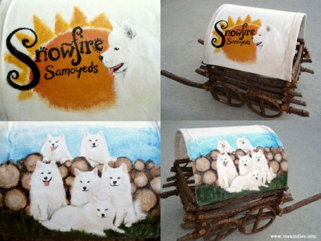 Paul's Samoyeds by Rosalind