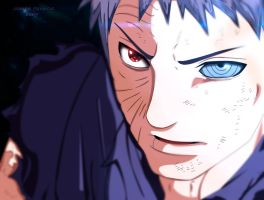 Obito Pintura by Derp1na