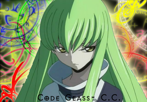 Code Geass- C.C. Wallpaper by RetrenarLeiZephros