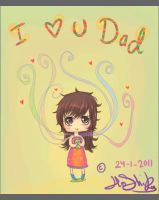 i love you dad by Hoshiko90