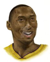 Kobe Bryant in Color by chaskillz