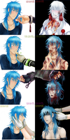 DRAMAtical Murder: Good and Bad Hands by GiStil