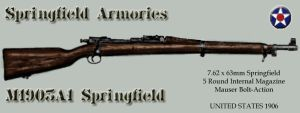 M1903A1 Springfield by SquireJames
