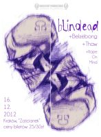 Blindead poster by 3rdeyelab