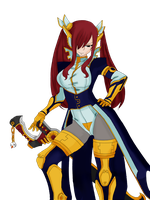 Fairy Tail - Erza Scarlet Chapter 330 by AliceTweetyx2