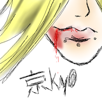 Kyo and blood. by Stukas