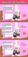 Chibi IA on how to deal with Cyber-Bullies by Trackdancer